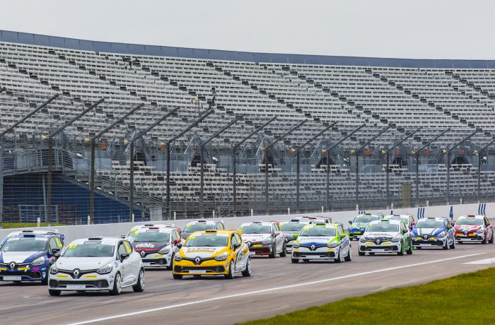UK Clio Cup Media Day 2016 Grid Line up